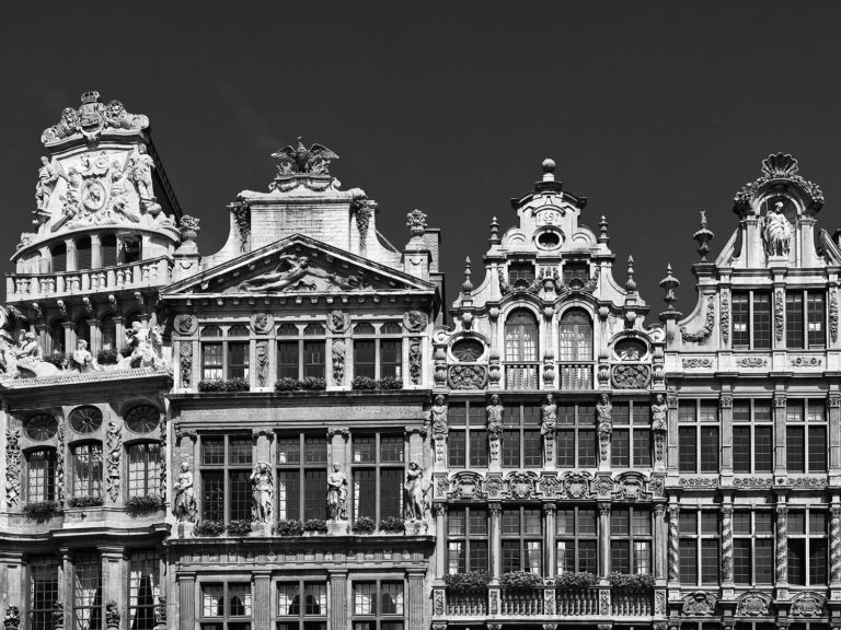 Brussels, Belgium - Houses at the Grand Place