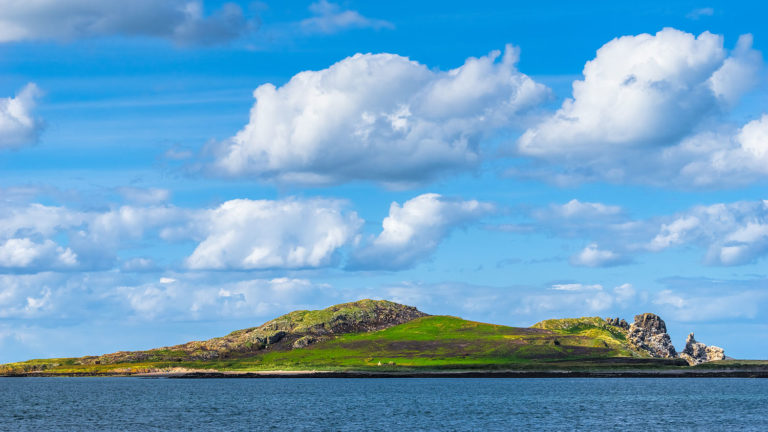 Ireland's Eye (Inis Mac Neasáin) - A small island off the coast of County Dublin, near Howth, Ireland
