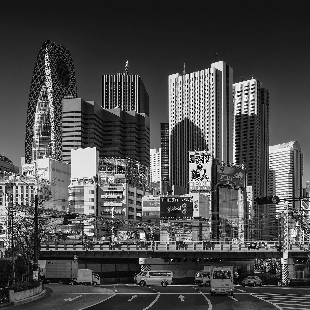 Tokyo, Japan - Shinjuku Skyline as Seen from Kabukichō