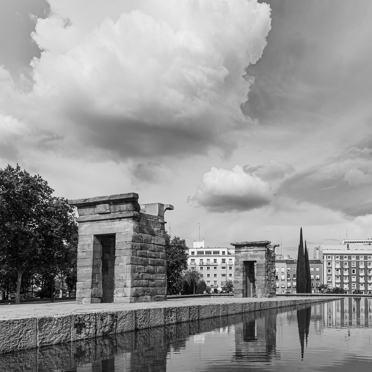 Madrid, Spain - The Temple of Debod