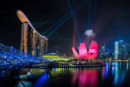 Singapore - Marina Bay at Night