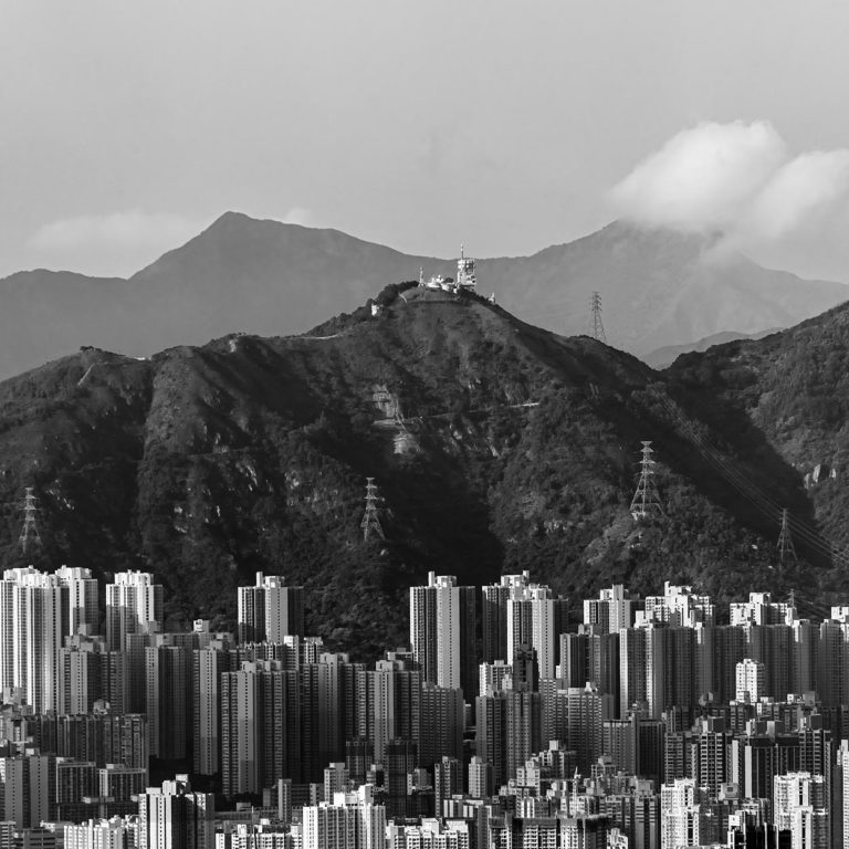 Kowloon as Seen from Victoria Peak in Hong Kong