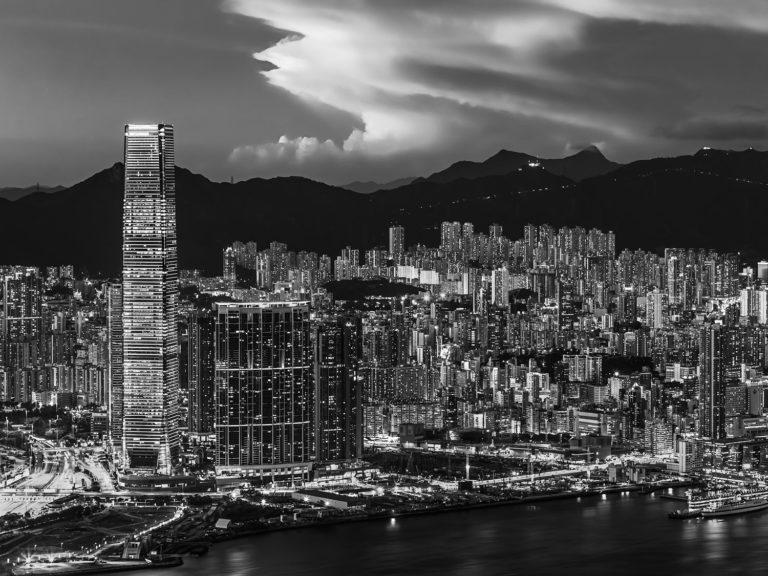 The Lights of Kowloon, Hong Kong