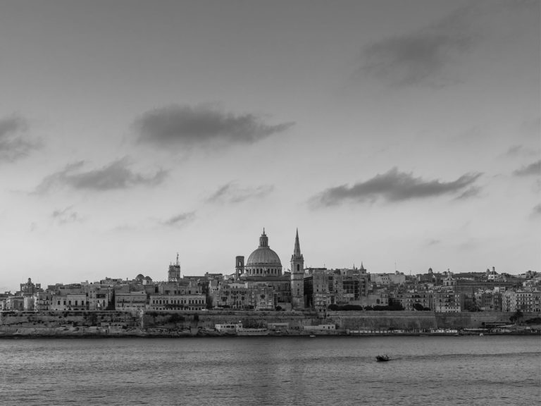 The Skyline of Valletta, Malta