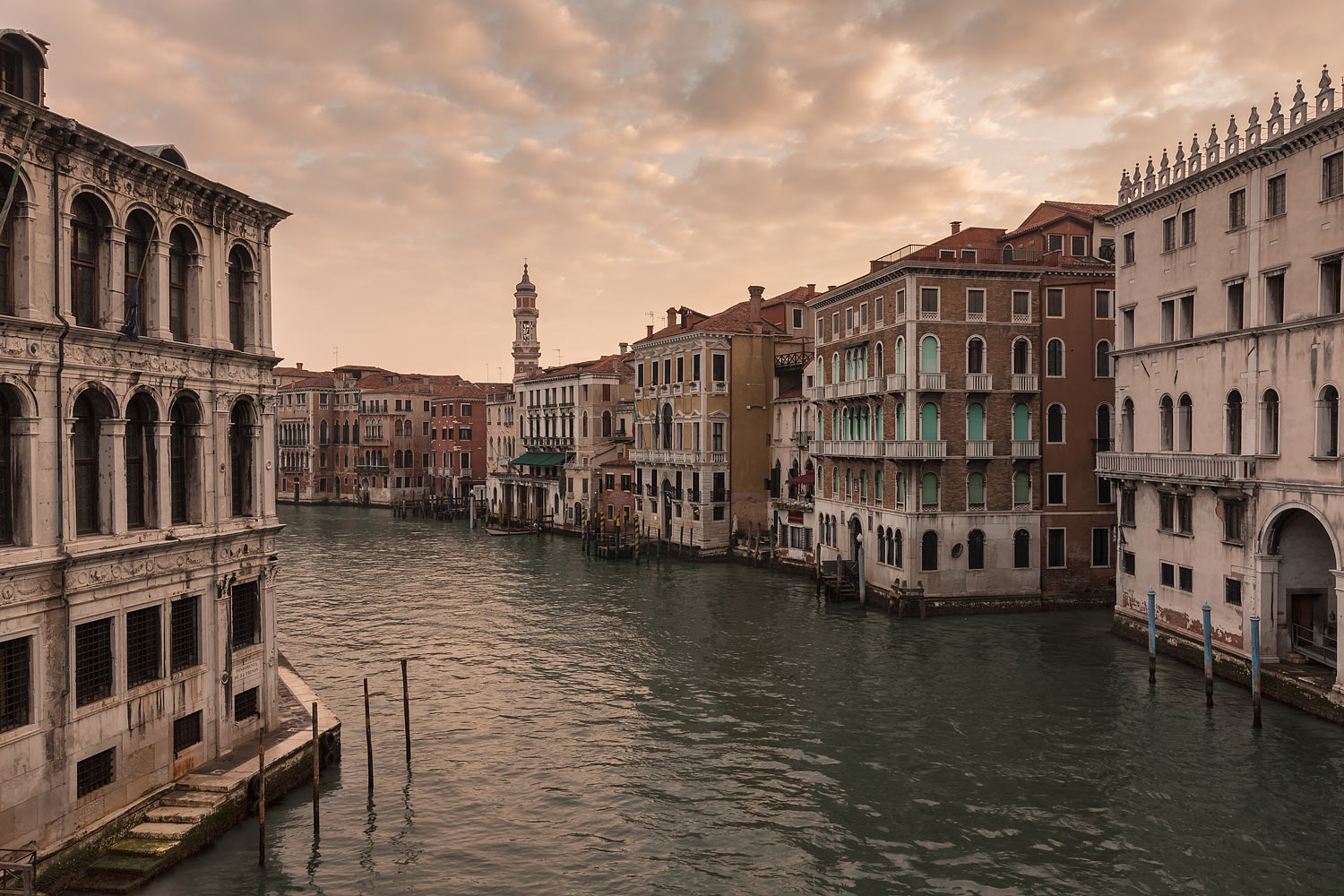Venice, Italy - The Grand Canal at Dawn